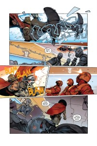 комикс overwatch безбилетник