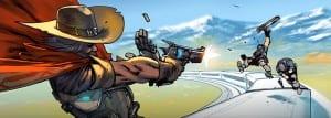 Overwatch Маккри Безбилетник
