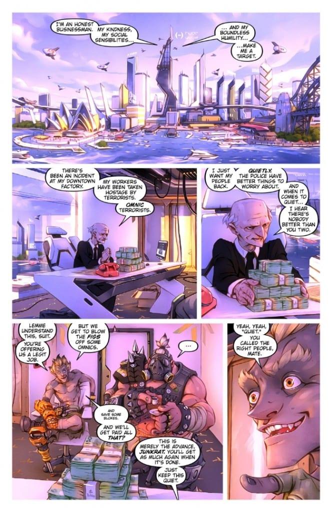 krysavchik i turbosvin komiks