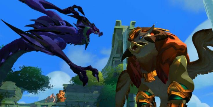 Gigantic-Grifon i Naga