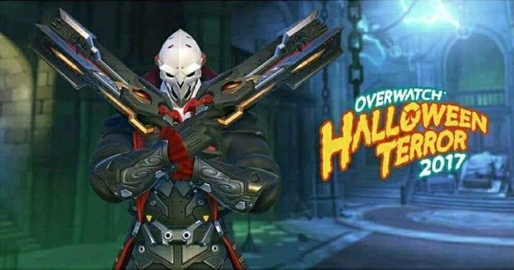 Overwatch Reaper Halloween 2017