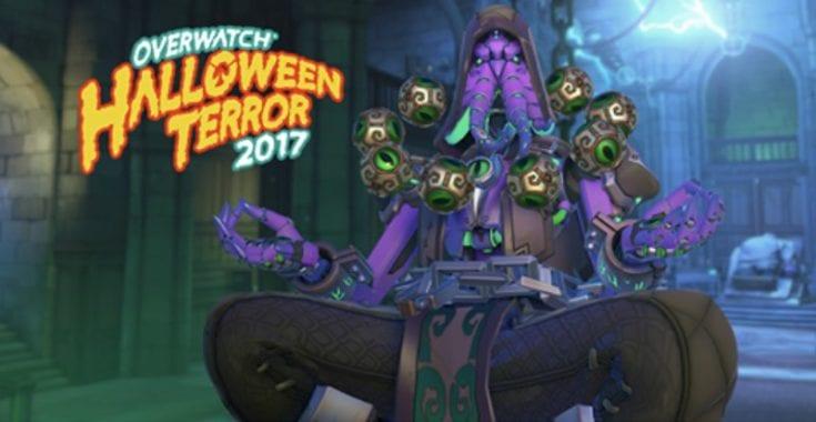 Overwatch Zenyatta Halloween 2017