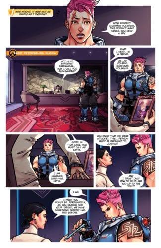 zarya komiks overwatch
