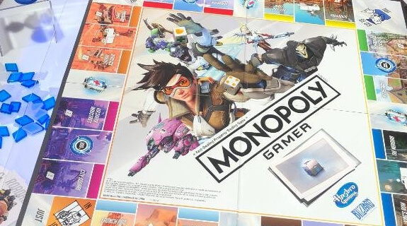 Монополия Overwatch Hasbro